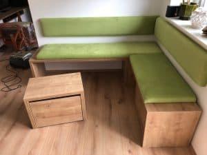 Kotna zelena klop 1
