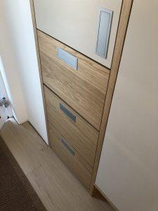 Namestnik stanovanje predsoba vgradna
