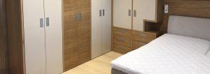 Slider stanovanje vgradna spalnica Namestnik